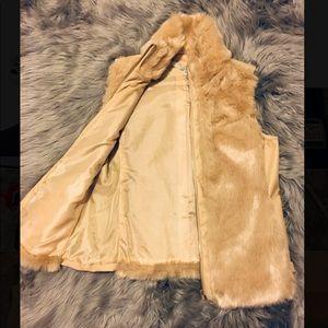 Fur Vest by GUESS